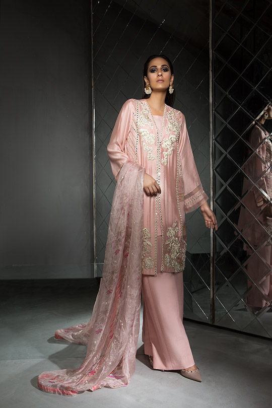 Women's Dreamy Eid luxury Pret Wear Collection 2019 By Saira Shakira (20)