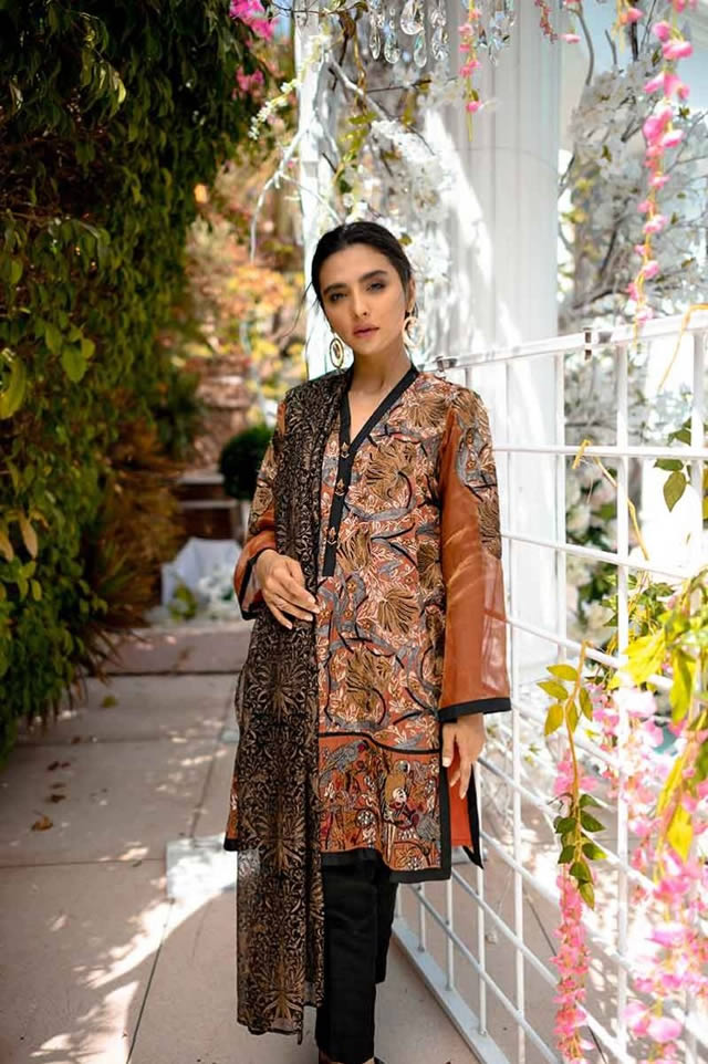 Gul Ahmed Les Morris Women's Eid Dresses Collection 2019 (4)