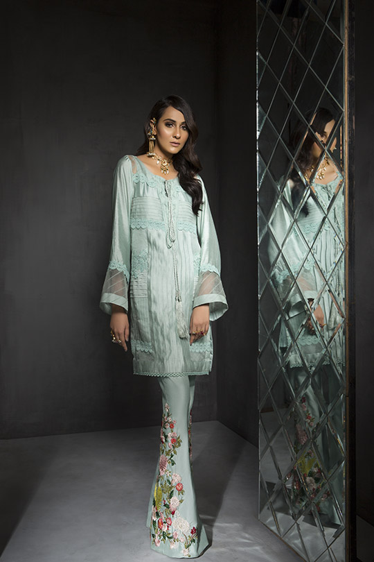 Women's Dreamy Eid luxury Pret Wear Collection 2019 By Saira Shakira (4)