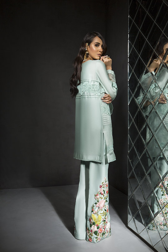 Women's Dreamy Eid luxury Pret Wear Collection 2019 By Saira Shakira (5)