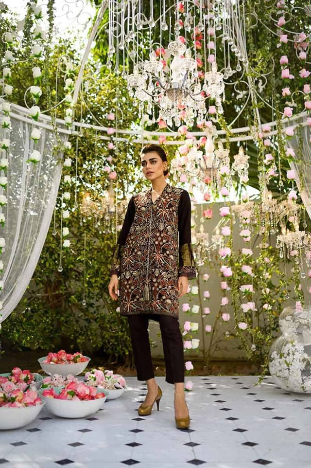 Gul Ahmed Les Morris Women's Eid Dresses Collection 2019 (8)