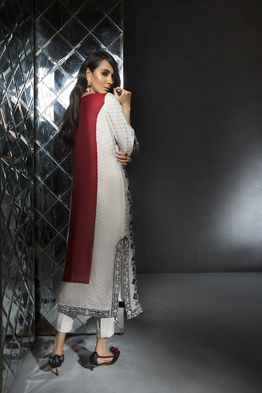 Women's Dreamy Eid luxury Pret Wear Collection 2019 By Saira Shakira (9)