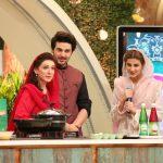 Beautiful clicks of Qubra Khan on Ramzan Pakistan transmission on Humtv (5)