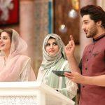 Beautiful clicks of Qubra Khan on Ramzan Pakistan transmission on Humtv (6)