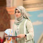 Beautiful clicks of Qubra Khan on Ramzan Pakistan transmission on Humtv (8)