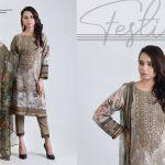 Bonanza Satrangi Eid Festive Two & Three Piece Collection 2019 (22)