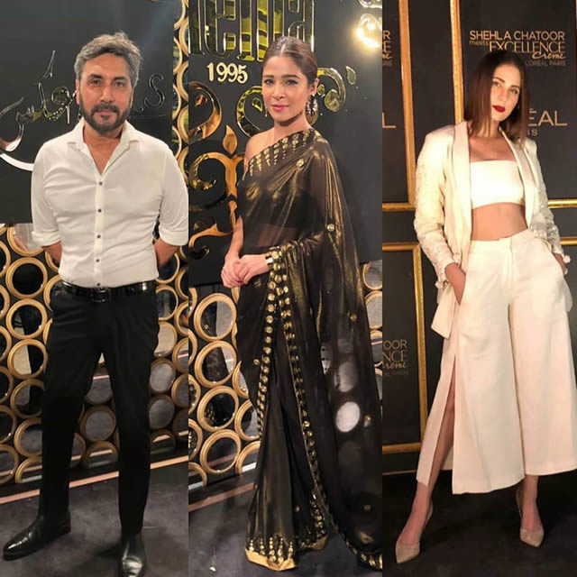 Celebrities at a bridal event by the famous designer Shehla Chatoor (7)