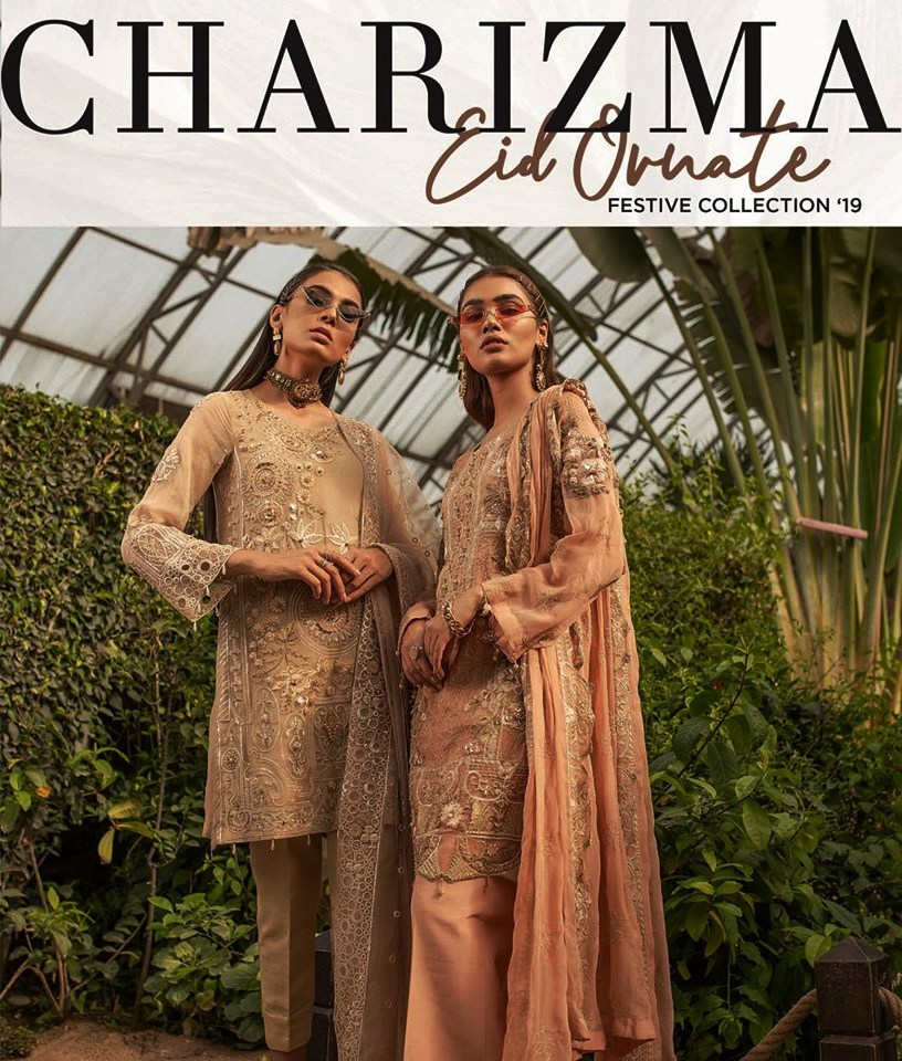 Charizma Ornet Eid Dresses Collection 2019 (1)