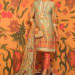 Eid Festive Dresses Collection 2019 By Al Karam (11)