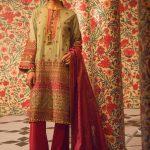 Eid Festive Dresses Collection 2019 By Al Karam (2)