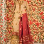 Eid Festive Dresses Collection 2019 By Al Karam (4)