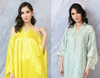 Eid with Ala Dresses Collection 2019 BySabeen Shaban (12)