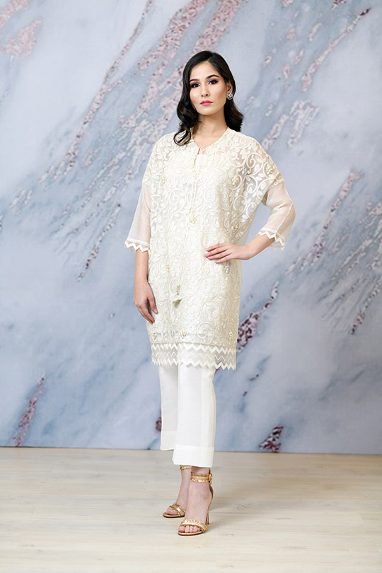 Eid with Ala Dresses Collection 2019 By Sabeen Shaban (2)