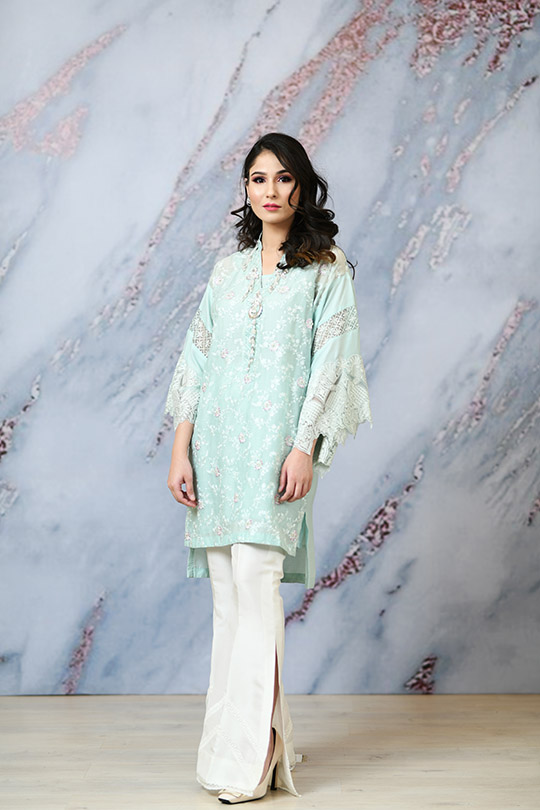 Eid with Ala Dresses Collection 2019 By Sabeen Shaban (6)