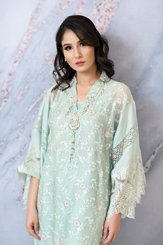 Eid with Ala Dresses Collection 2019 By Sabeen Shaban (7)