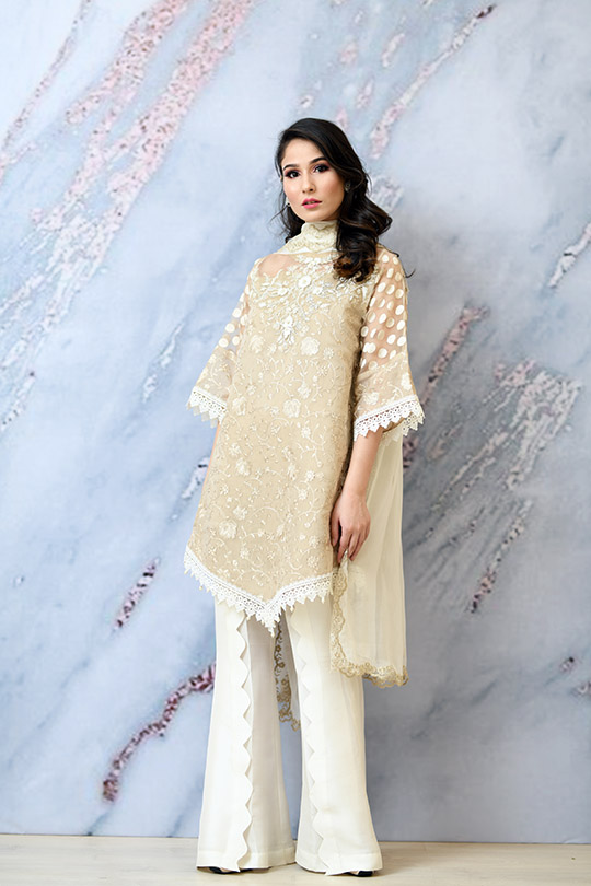 Eid with Ala Dresses Collection 2019 By Sabeen Shaban (9)