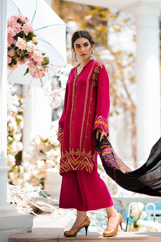 Festive Diaries Ideas Pret 2019 Eid Collection by Gul Ahmed (4)