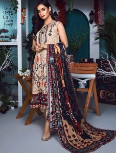 Khas Designer Lawn Eid Festive Collection 2019 (10)