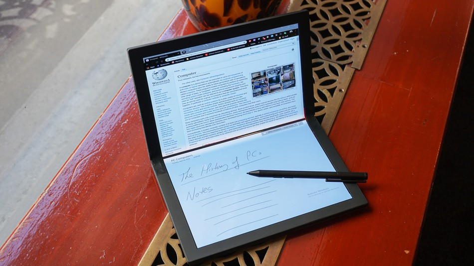 Lenovo is making a ThinkPad with a folding screen (2)