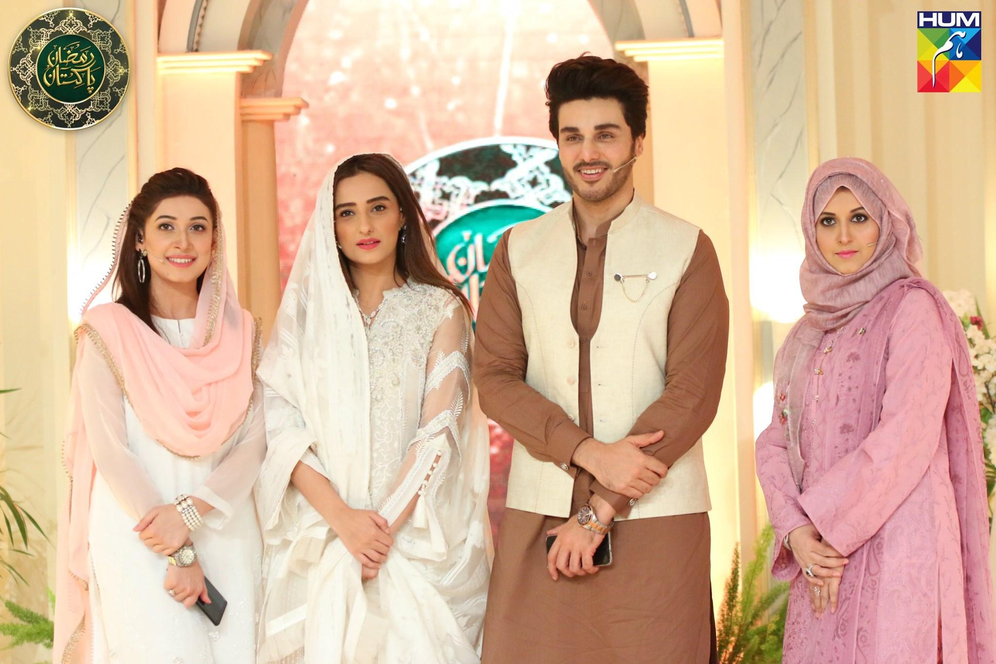 Moomal Sheikh Guest in Ramzan Pakistan Transmission on Humtv (1)