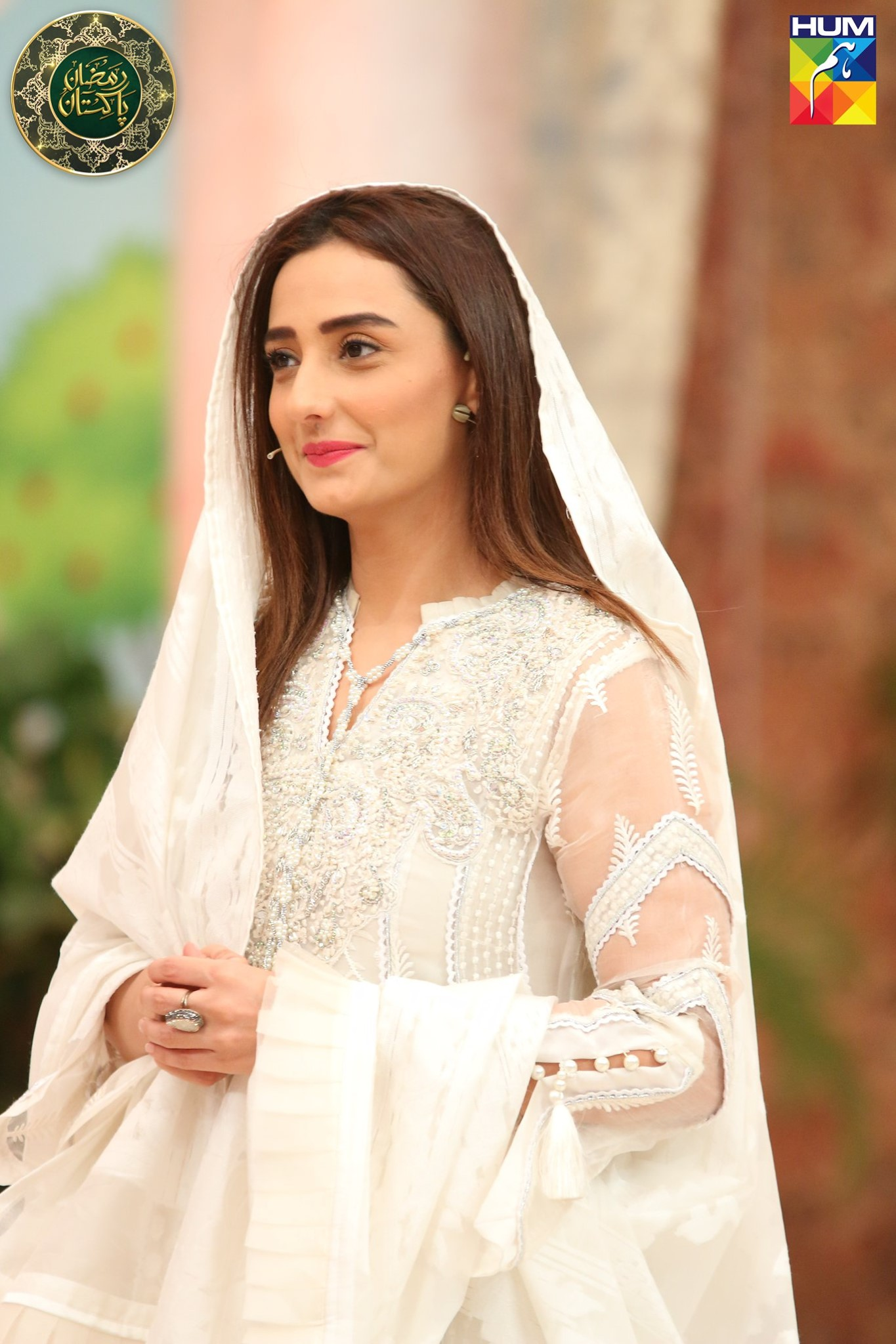 Moomal Sheikh Guest in Ramzan Pakistan Transmission on Humtv