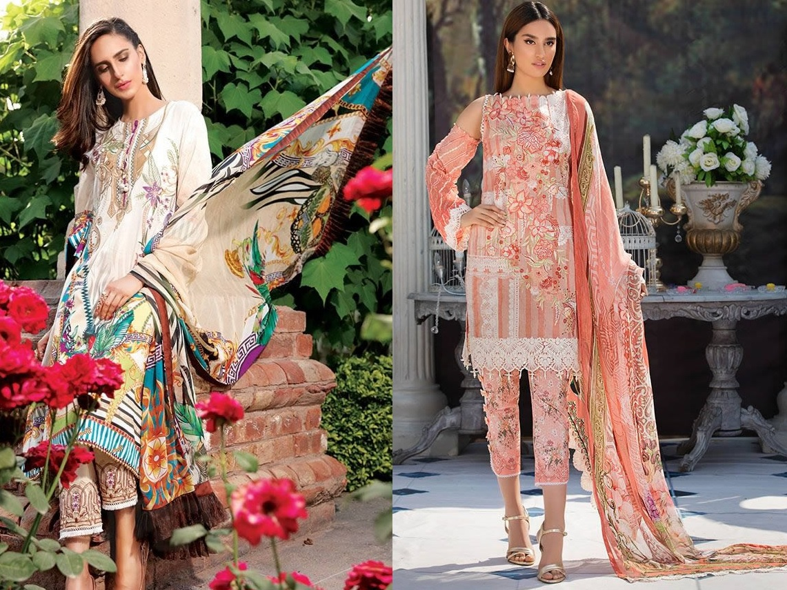 Motifz Eid Digital Printed Embroidered Wear Collection 2019 (1)