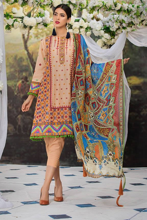 Motifz Eid Digital Printed Embroidered Wear Collection 2019 (11)