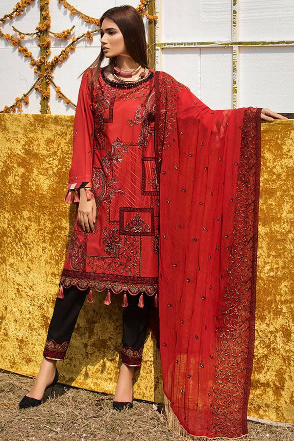 Motifz Eid Digital Printed Embroidered Wear Collection 2019 (14)