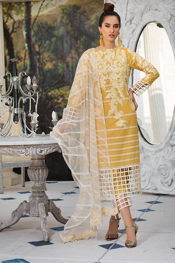 Motifz Eid Digital Printed Embroidered Wear Collection 2019 (17)
