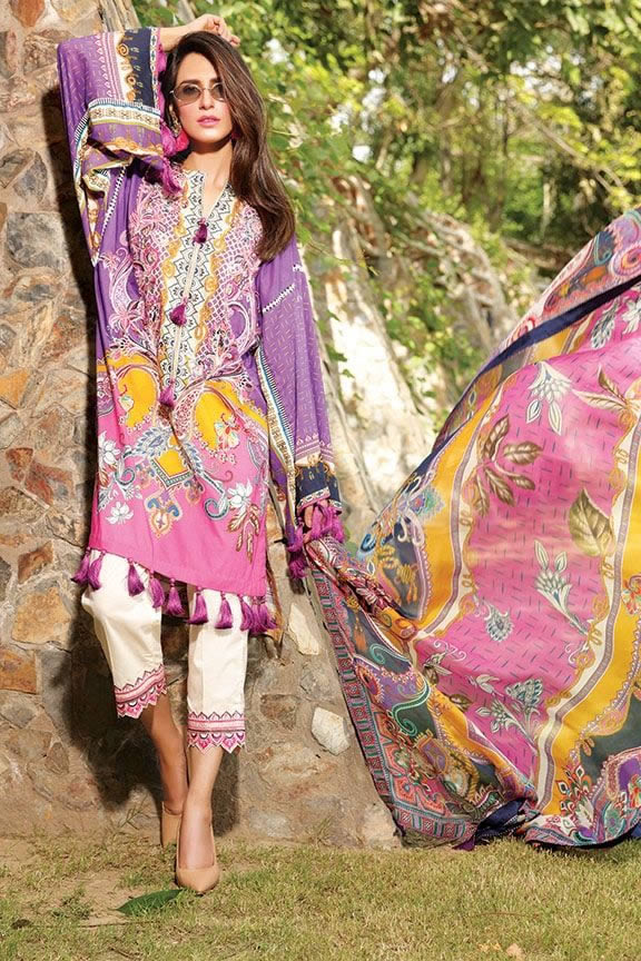 Motifz Eid Digital Printed Embroidered Wear Collection 2019 (18)
