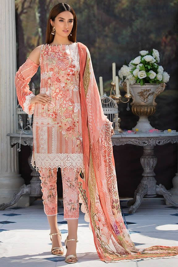 Motifz Eid Digital Printed Embroidered Wear Collection 2019 (19)