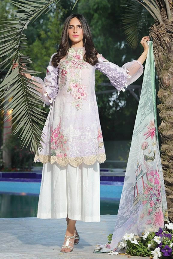 Motifz Eid Digital Printed Embroidered Wear Collection 2019 (2)