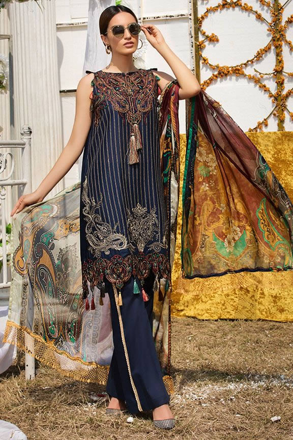 Motifz Eid Digital Printed Embroidered Wear Collection 2019 (22)
