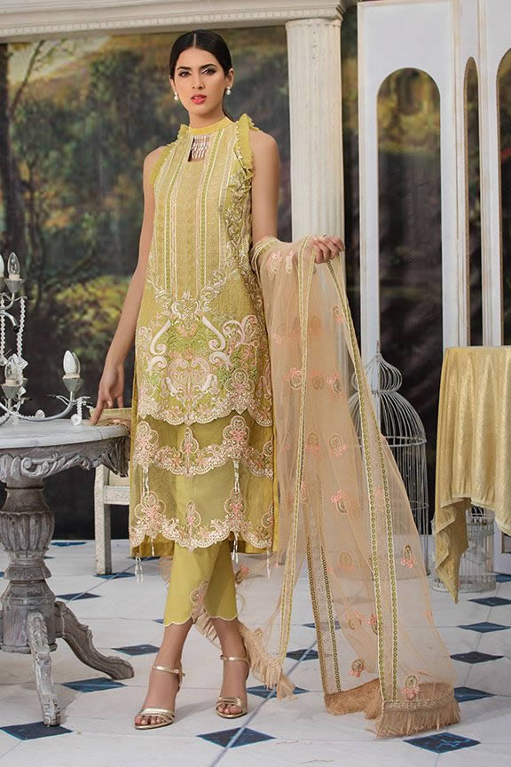 Motifz Eid Digital Printed Embroidered Wear Collection 2019 (24)