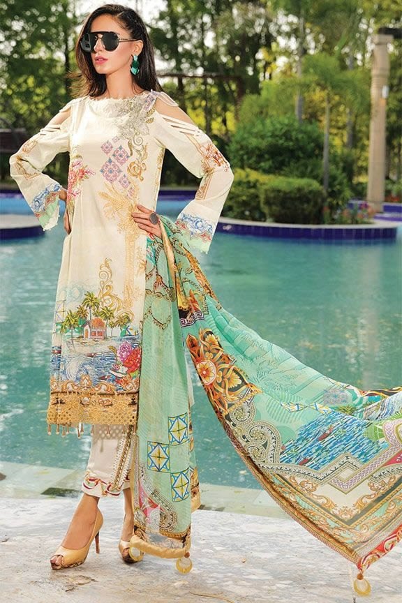 Motifz Eid Digital Printed Embroidered Wear Collection 2019 (25)