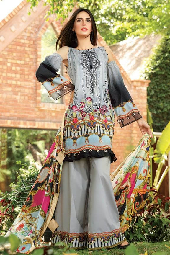 Motifz Eid Digital Printed Embroidered Wear Collection 2019 (27)