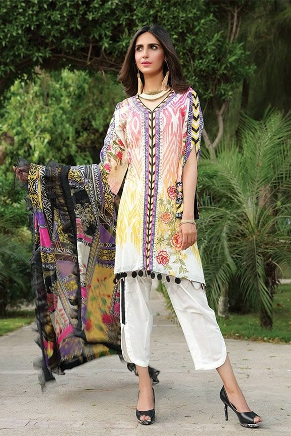 Motifz Eid Digital Printed Embroidered Wear Collection 2019 (28)