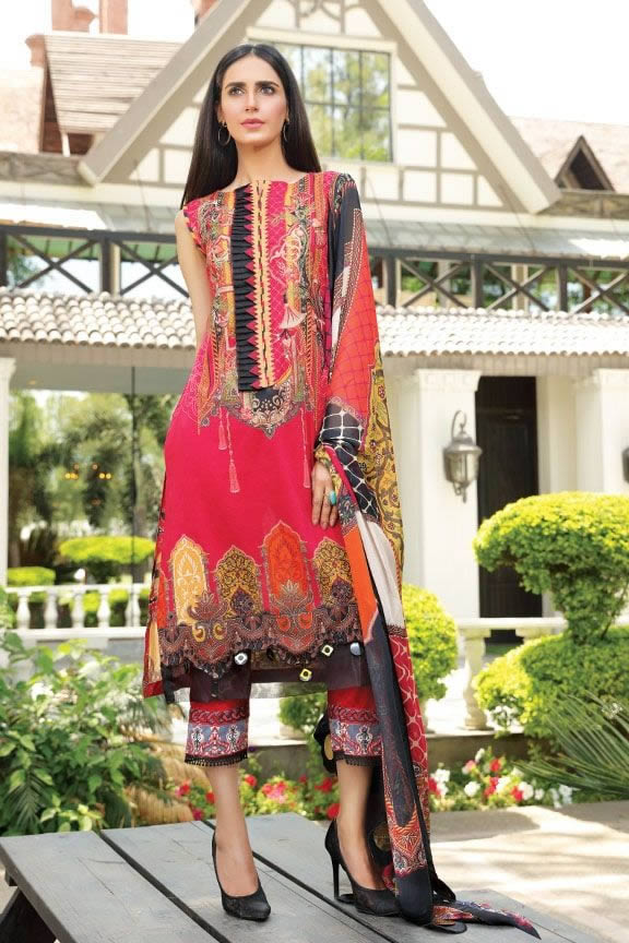 Motifz Eid Digital Printed Embroidered Wear Collection 2019 (4)