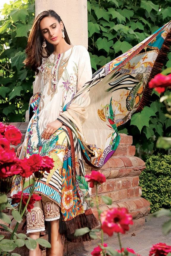 Motifz Eid Digital Printed Embroidered Wear Collection 2019 (5)