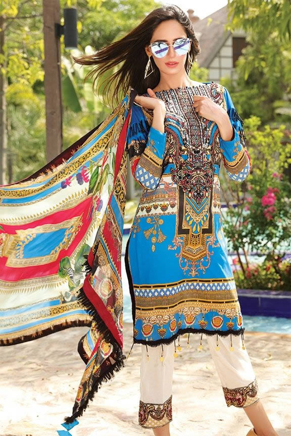 Motifz Eid Digital Printed Embroidered Wear Collection 2019 (6)