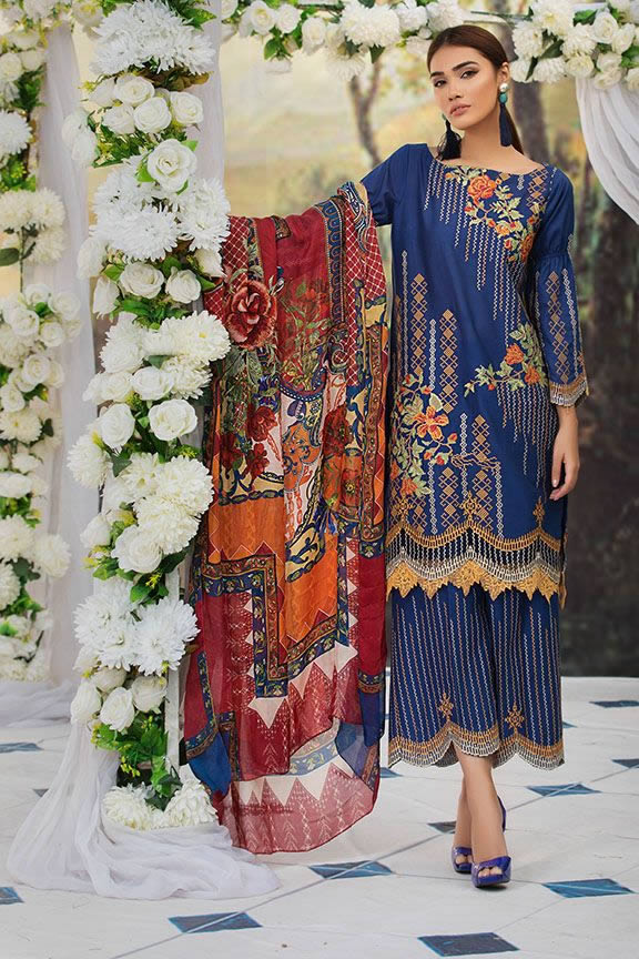 Motifz Eid Digital Printed Embroidered Wear Collection 2019 (8)