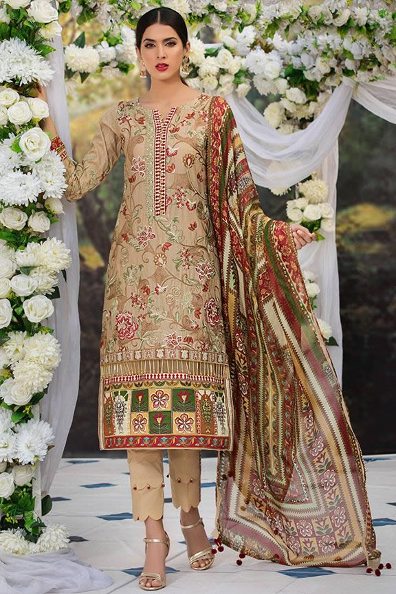 Motifz Eid Digital Printed Embroidered Wear Collection 2019 (9)