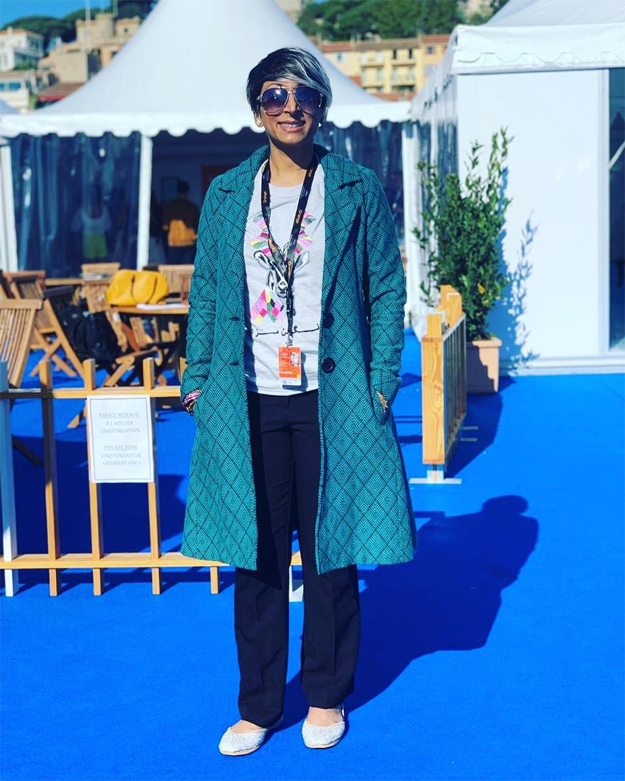 Pakistani filmmaker Iram Parveen Bilal arrives at Cannes 2019 (2)