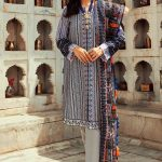 Rani Bagh Luxury Lawn Collection 2019 By Cross Stitch (14)