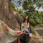 Saira Shakira Eid Crimson Luxury Lawn 2019 (15)