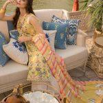 Saira Shakira Eid Crimson Luxury Lawn 2019 (18)