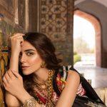 Saira Shakira Eid Crimson Luxury Lawn 2019 (22)