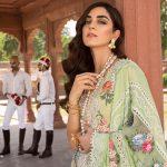Saira Shakira Eid Crimson Luxury Lawn 2019 (7)