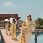 Saira Shakira Eid Crimson Luxury Lawn 2019 (8)