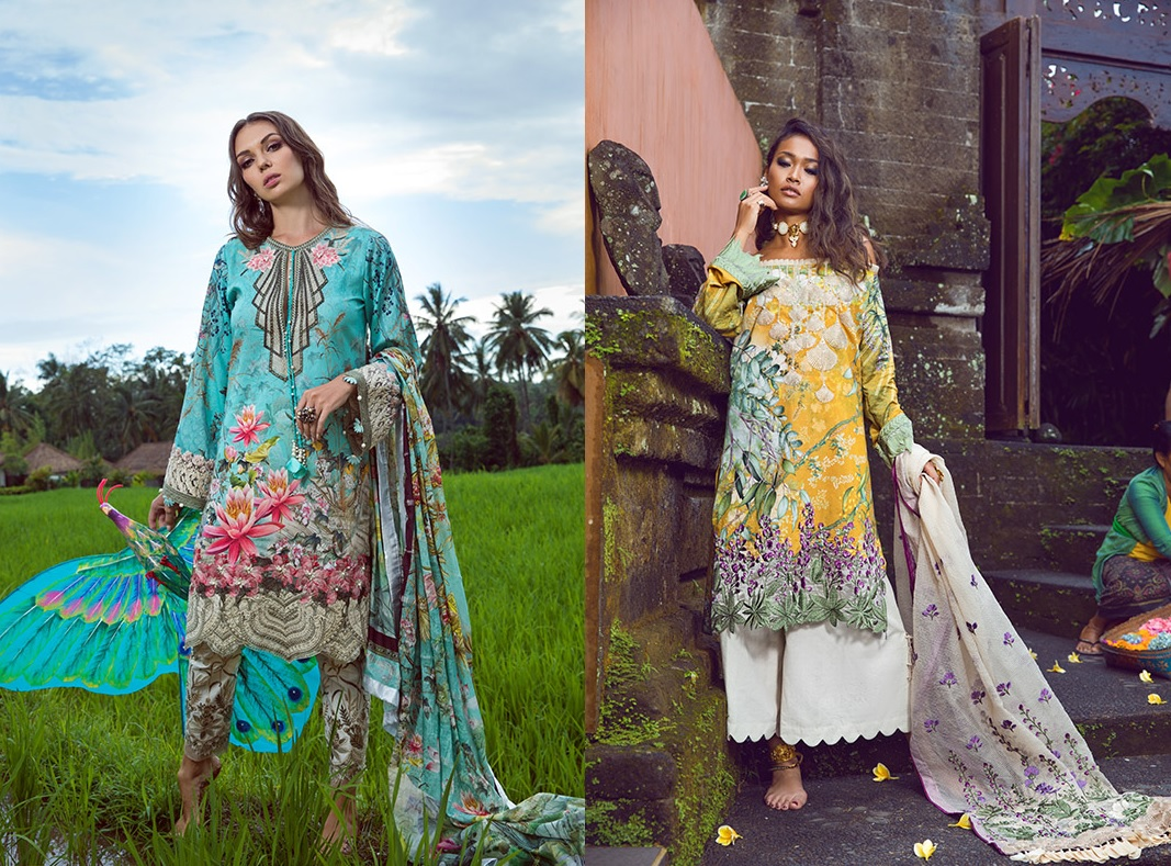 Shiza Hassan's Eid Lawn Dresses Collection 2019 (1)